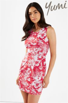 Yumi Floral Tulip Mini Dress