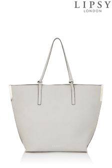 Lipsy Bar Detail Shopper Bag