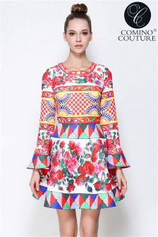 Comino Couture Colourful Pop Dress