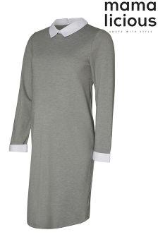 Mamalicious Maternity Shirt Dress