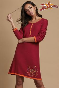 Joe Browns Embroidered Jumper Dress