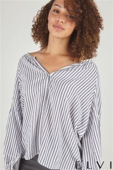 Elvi Striped Blouse