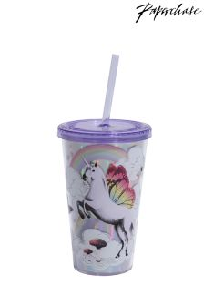 Paperchase Winged Animals Cup With Straw