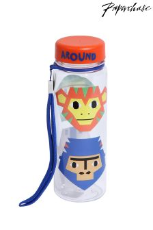 Paperchase Monkey Print Water Bottle