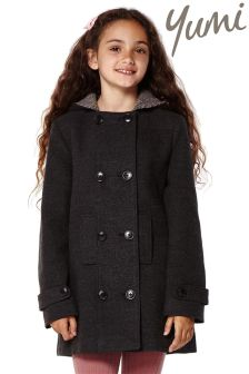 Yumi Girl Double Breasted Duffle Coat