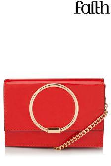 Faith Circle Detail Shoulder Bag