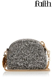 Faith Glitter Cross Body