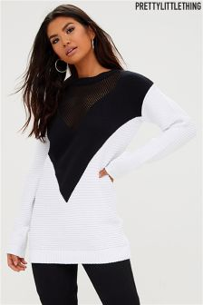 PrettyLittleThing Monochrome Jumper