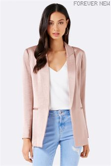 Forever New Satin Blazer