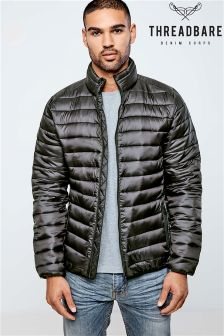 Threadbare Quilted Collar Jacket