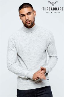 Threadbare Roll Neck Jumper