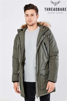 Threadbare Alpine Parka Coat