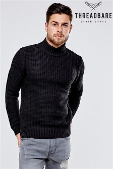 Threadbare Griffin Turtle Neck Jumper