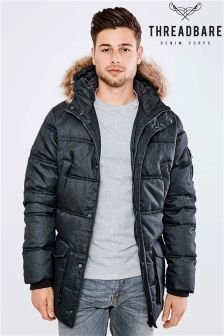 Threadbare Padded Parka