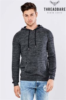 Threadbare Knitted Hoodie