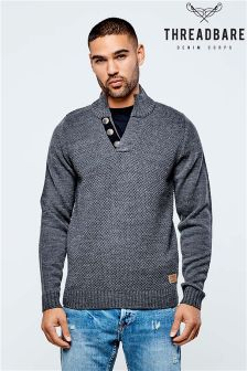 Threadbare Button Jumper