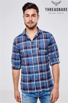 Threadbare Boomer Check Shirt