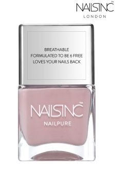 Nails Inc Nail Pure 6 Free Bond Street Passage Nail Polish