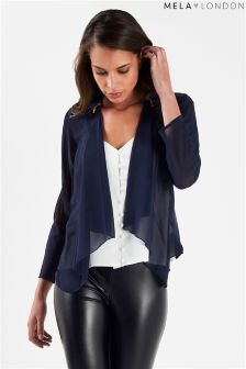 Mela London Chiffon Waterfall Jacket