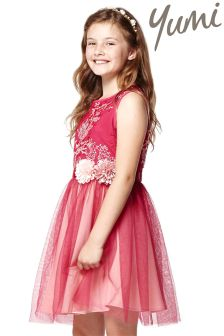 Yumi Girl Embroidery Dress