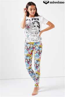 Missimo Disney Princess 'Grl Power' Ladies PJ Set