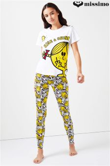 Missimo Little Miss Sunshine Ladies PJ Set