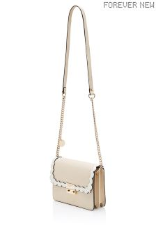 Forever New Scallop Edge Cross Body Bag