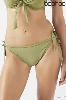 Boohoo Mix & Match Tie Side Bikini Briefs