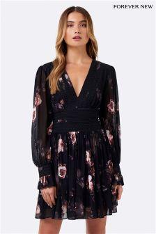 Forever New Trim Detail Day Dress