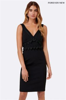 Forever New Trim Insert Sheath Dress