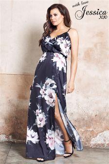 Jessica Wright Floral Print Maxi Dress