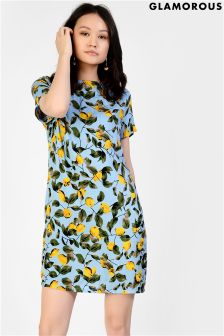 Glamorous Print Shift Dress