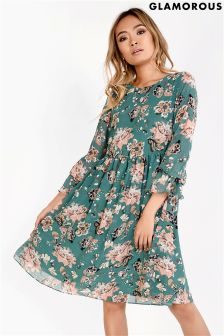 Glamorous Printed Oversized Blouse