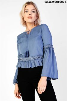 Glamorous Bell Sleeve Smock To