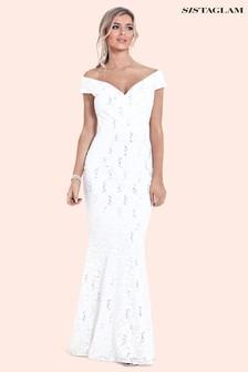 Sistaglam Lace Maxi Dress