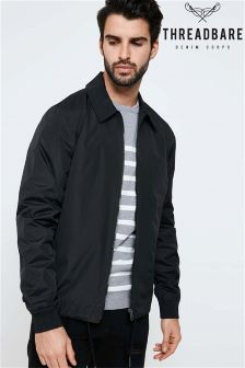 Threadbare Lightweight Jacket With Zip Pocket To Sleeves