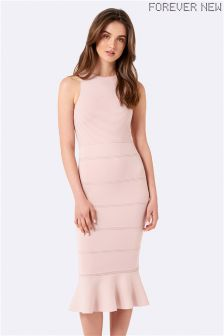 Forever New Peplum Bodycon Dress