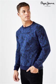 Pepe Jeans Print Sweatshirt