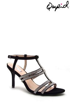 Qupid Embellished Strappy Sandal