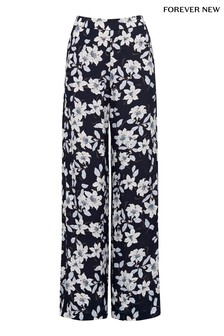 Forever New Camille Printed Palazzo Trousers