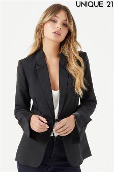 Unique 21 Tie Waist Blazer