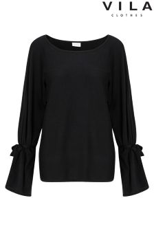 Vila Long Sleeve Knitted Top