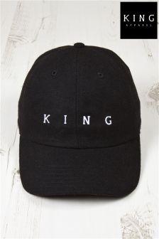 King Tennyson Curved Peak Cap