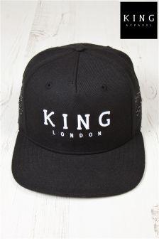 King Staple Snapback Hat