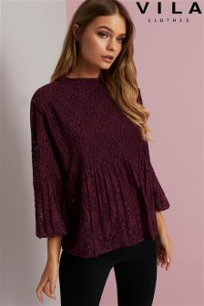 Vila 3/4 Sleeve Top