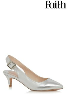 Faith Slingback Kitten Heels