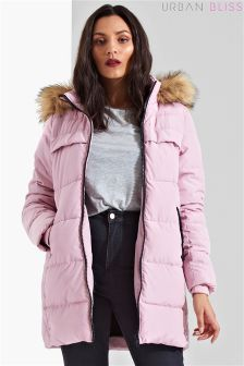 Urban Bliss Padded Longline Coat