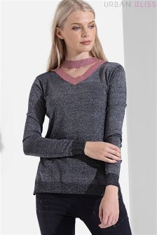 Urban Bliss Choker Neck Jumper