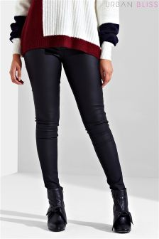 Urban Bliss Coated Skinny Jeans