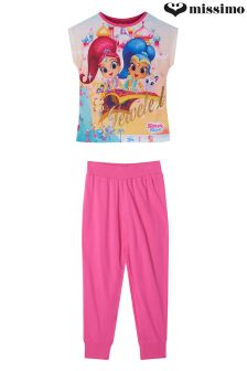 Missimo Girls Shimmer & Shine Pyjama Set